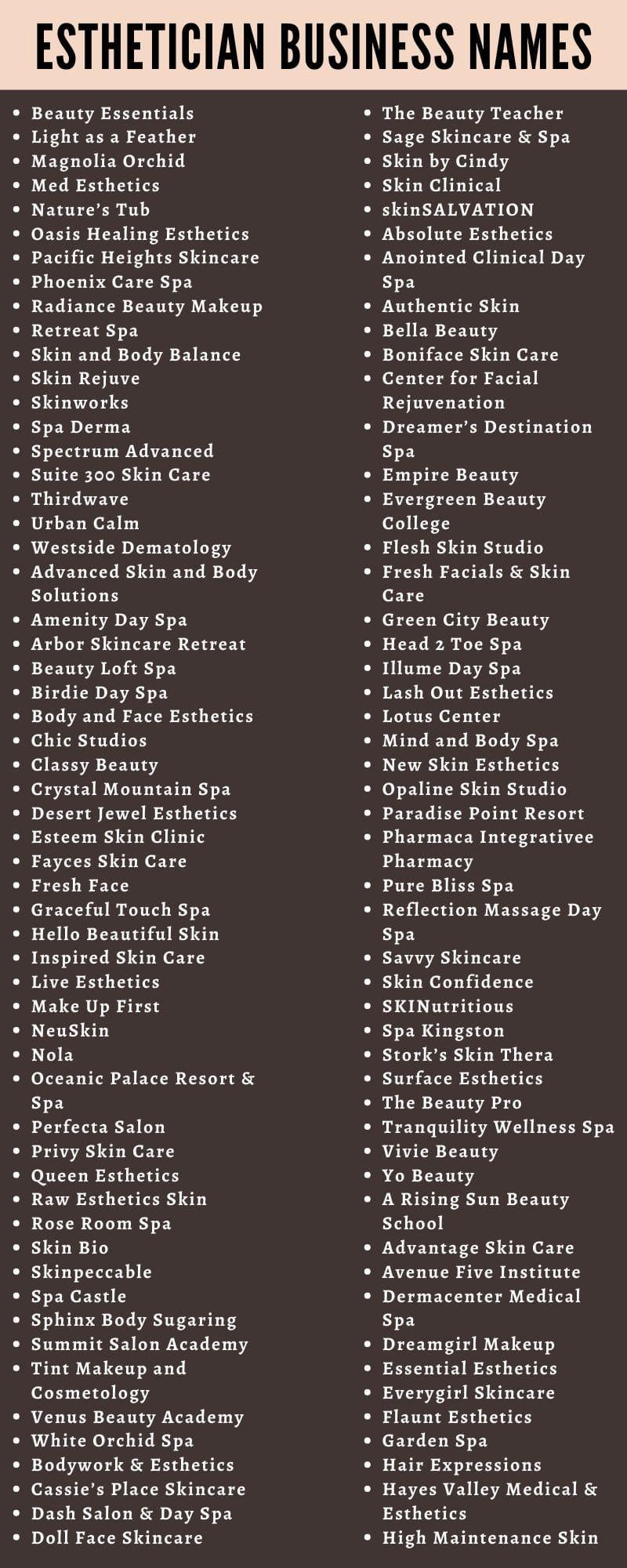 Hair And Makeup Business Names  Saubhaya Makeup